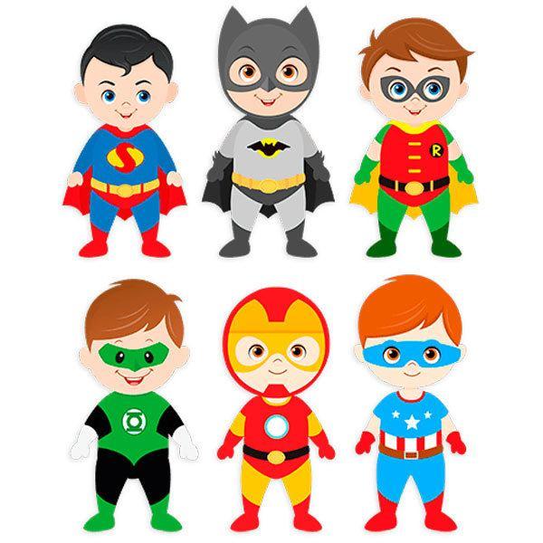 Kinderzimmer Wandtattoo: Kit Helden stehen