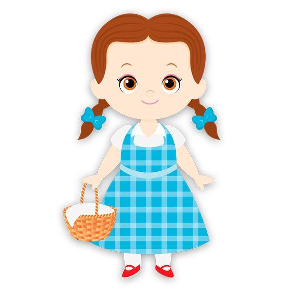 Kinderzimmer Wandtattoo: Dorothy Zauberer von Oz Warenkorb