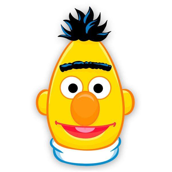 Kinderzimmer Wandtattoo: Gesicht Bert