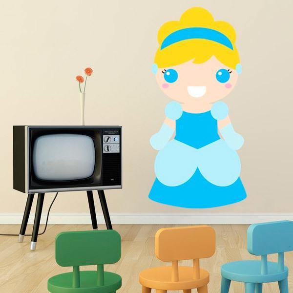 Kinderzimmer Wandtattoo: Aschenputtel
