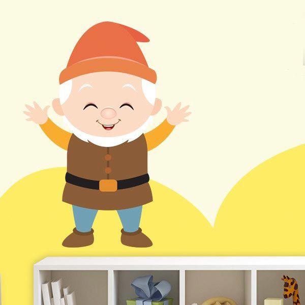 Kinderzimmer Wandtattoo: Glücklich Zwerge