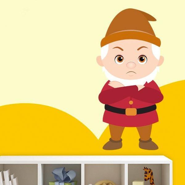 Kinderzimmer Wandtattoo: Griesgram Zwerge