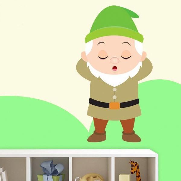 Kinderzimmer Wandtattoo: Langschläfer Zwerge