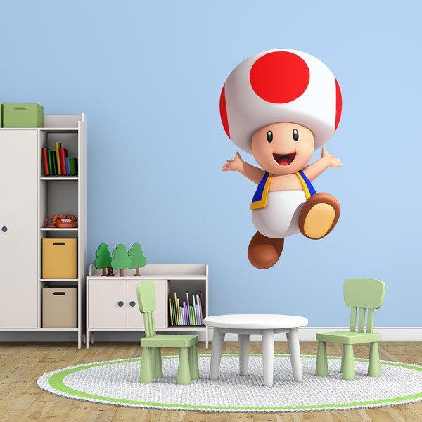 Kinderzimmer Wandtattoo: Toad