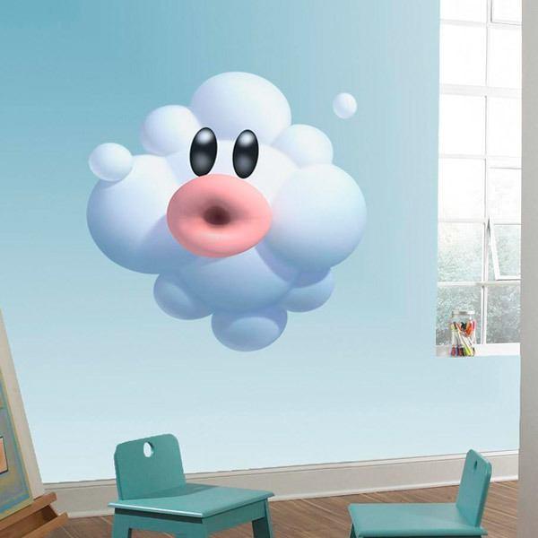 Kinderzimmer Wandtattoo: Foo