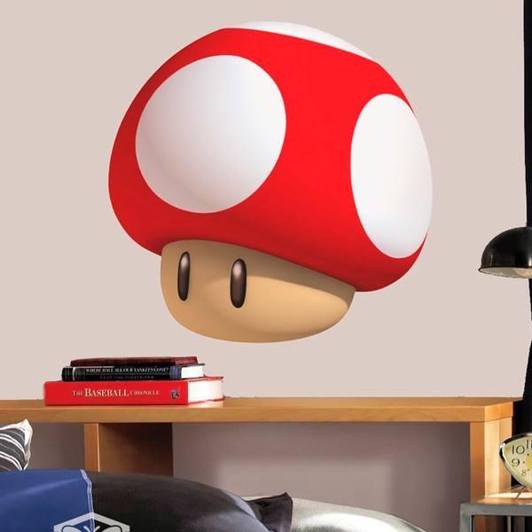 Kinderzimmer Wandtattoo: Mario mushroom