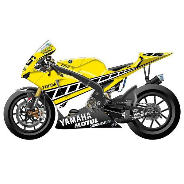 Aufkleber: Kit Yamaha 50th Anniversary Laguna Seca 2005