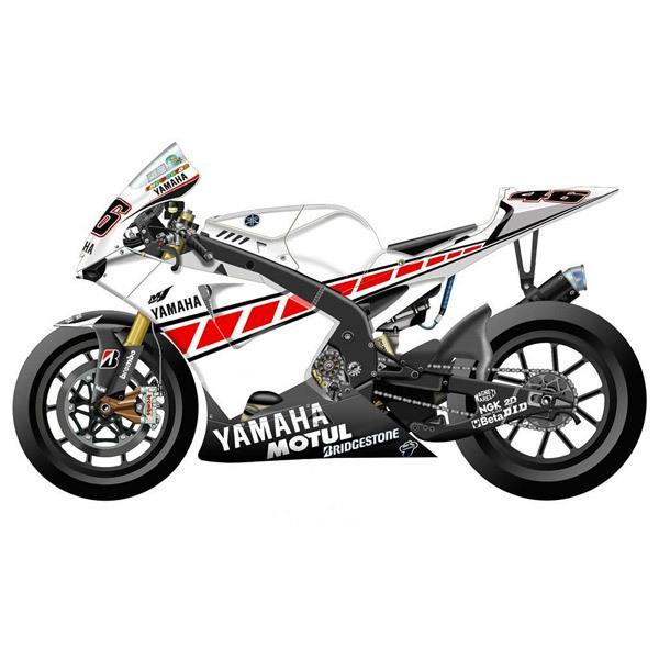 Aufkleber: Kit Yamaha 50th Anniversary Valencia 2005