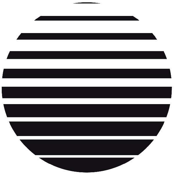 Wandtattoos: circulares 100