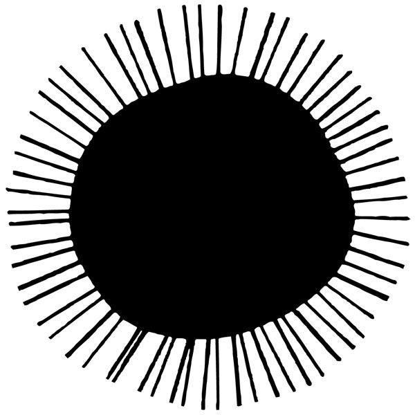 Wandtattoos: Sonnen 20