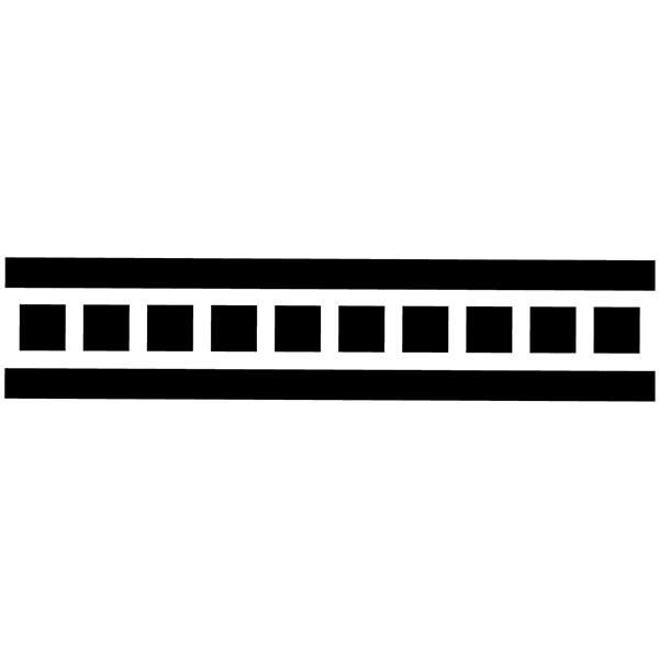 Wandtattoos: decorative border 333