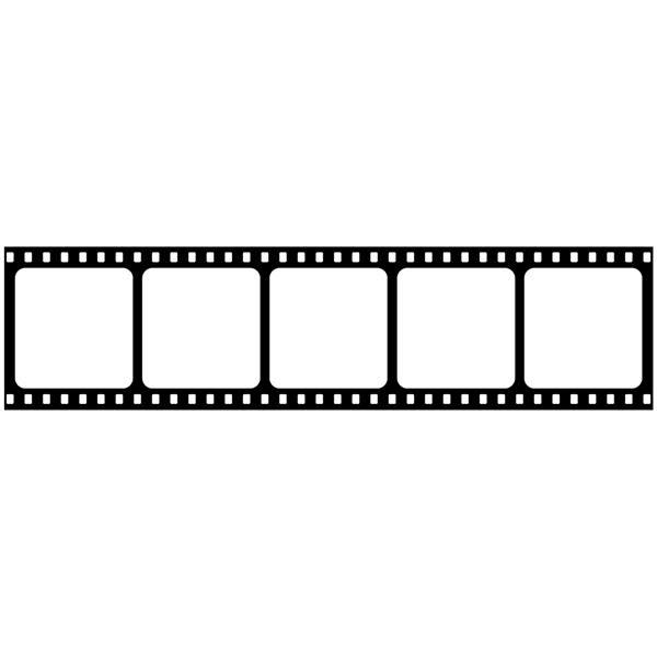 Wandtattoos: Bordüre kino