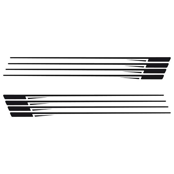 Aufkleber: Stripes kit 11