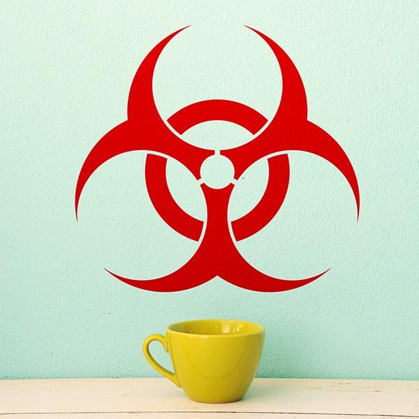 Wandtattoos: Biohazard