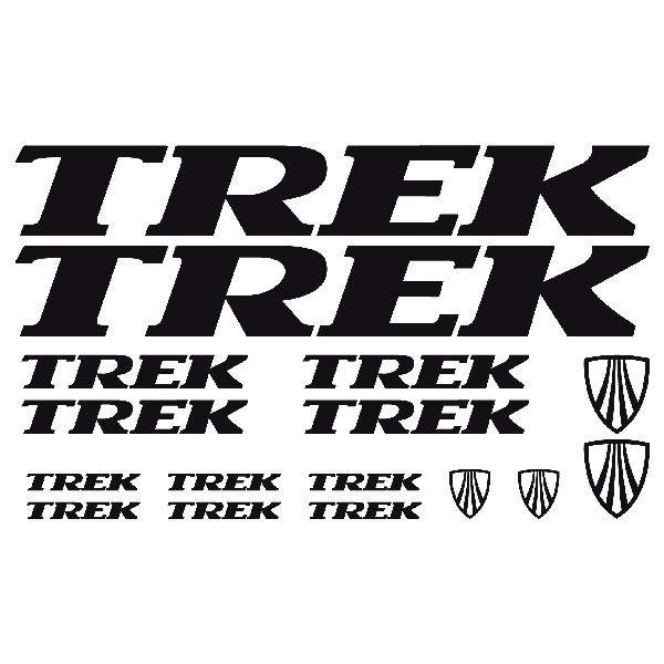 Aufkleber: Kit Fahrrad Mountainbike MTB Trek 1