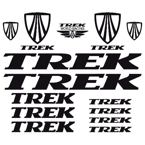 Aufkleber: Kit Fahrrad Mountainbike MTB Trek 2