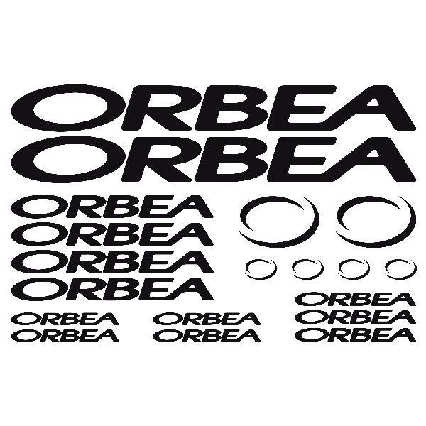Aufkleber: Kit Fahrrad Mountainbike MTB Orbea 1