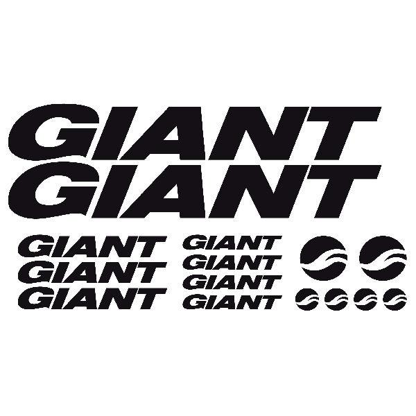 Aufkleber: Kit Fahrrad Mountainbike MTB Giant 1