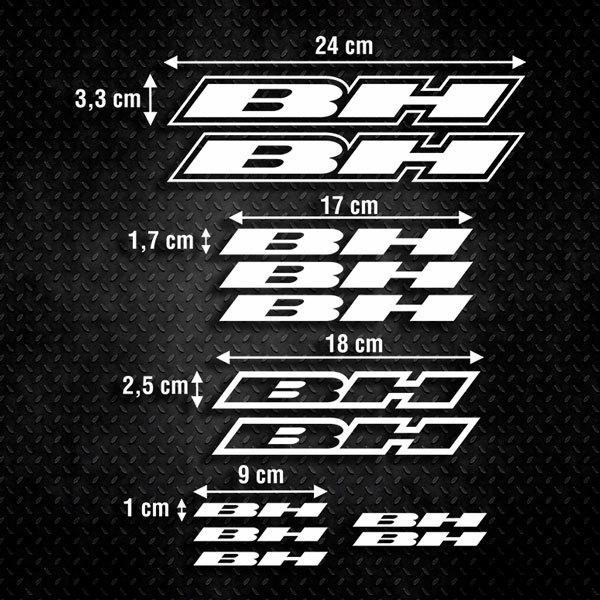 Aufkleber: Kit Fahrrad Mountainbike MTB BH 1
