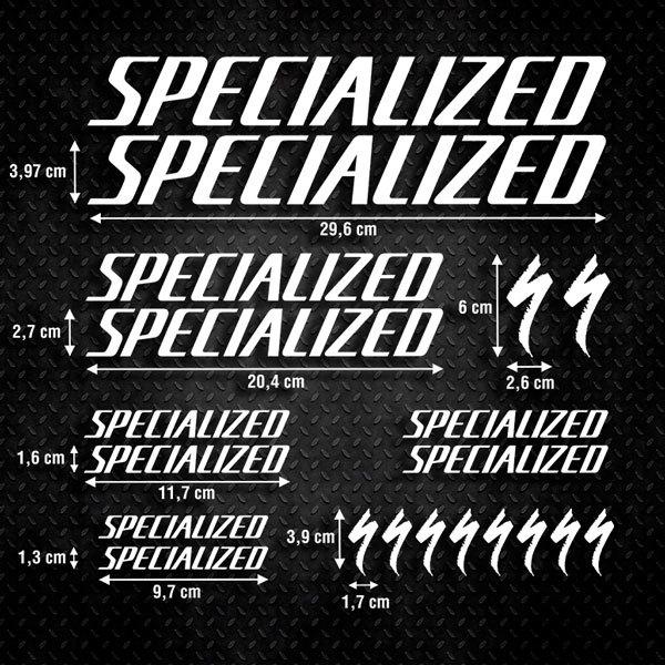 Aufkleber: Kit Fahrrad Mountainbike MTB Specialized 1
