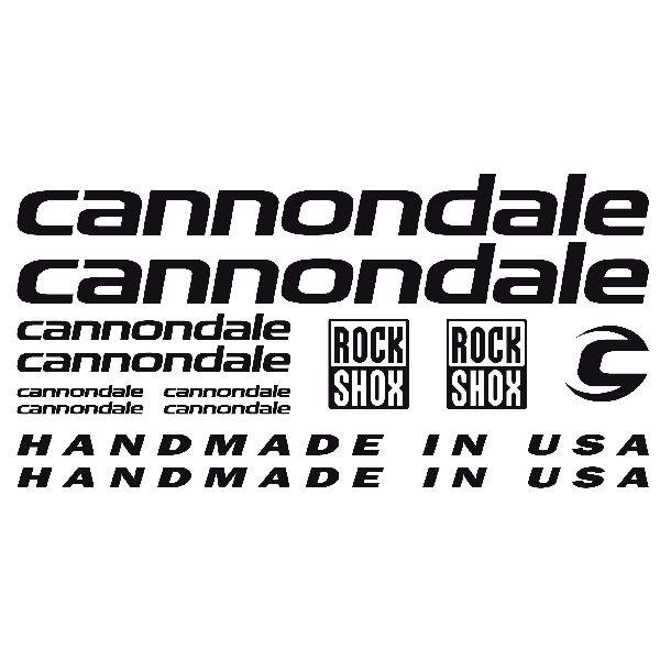 Aufkleber: Kit Fahrrad Mountainbike MTB Cannondale 1