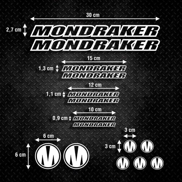 Aufkleber: Kit Fahrrad Mountainbike MTB Mondraker 1