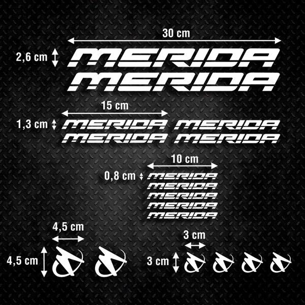 Aufkleber: Kit Fahrrad Mountainbike MTB Merida 1