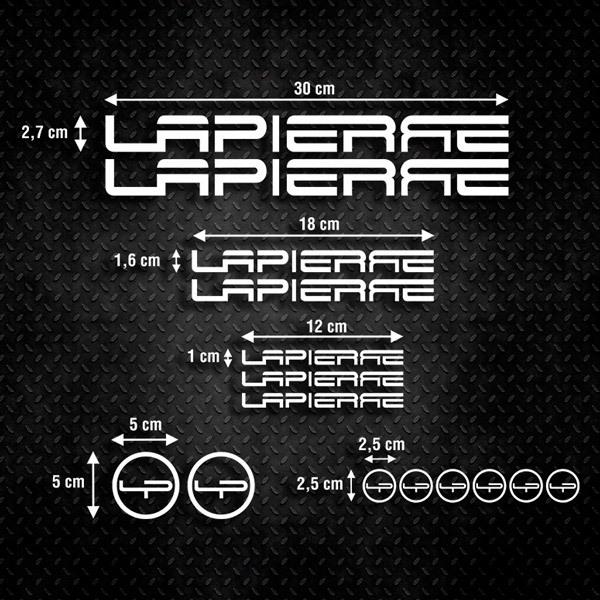 Aufkleber: Kit Fahrrad Mountainbike MTB Lapierre 1