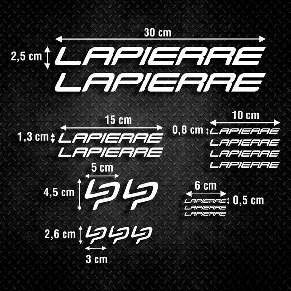 Aufkleber: Kit Fahrrad Mountainbike MTB Lapierre 2