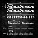 Aufkleber: Kit Fahrrad TeleAdhesivo