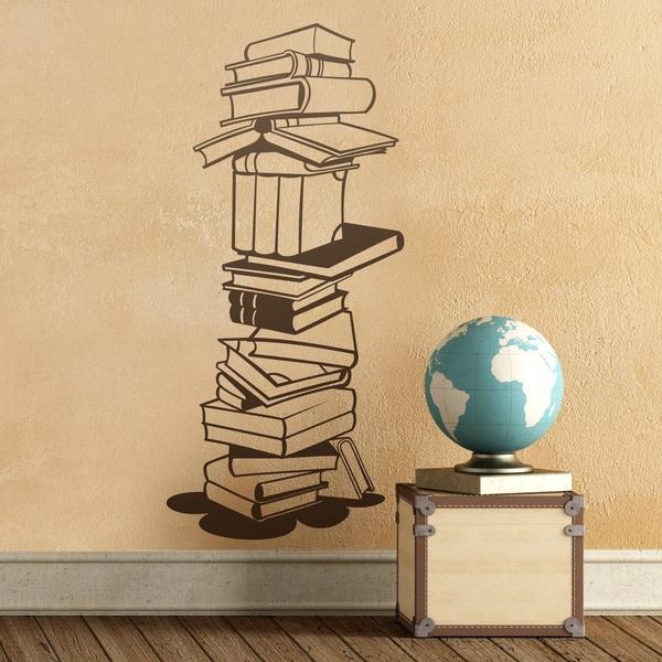 Wandtattoos: Bücher