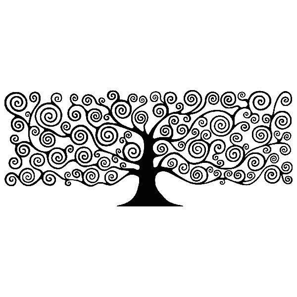 Wandtattoos: Baum des Lebens durch Klimt