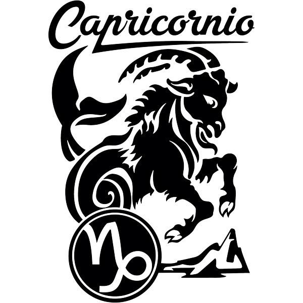 Wandtattoos: zodiaco 32 (Capricornio)