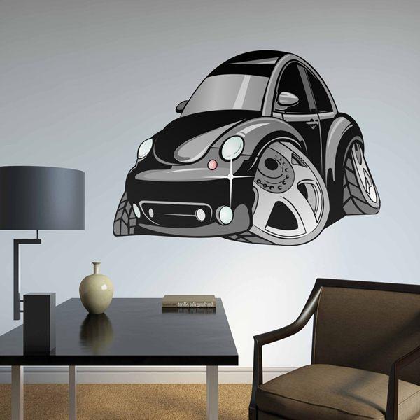 Kinderzimmer Wandtattoo: Volkswagen