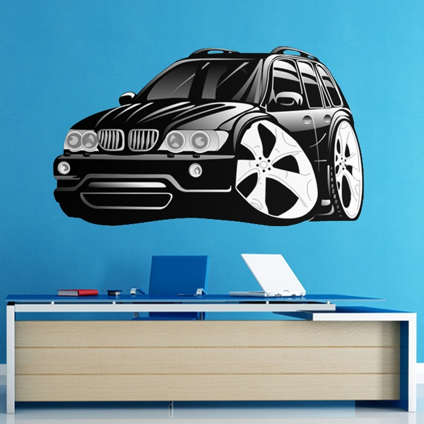 Kinderzimmer Wandtattoo: BMW