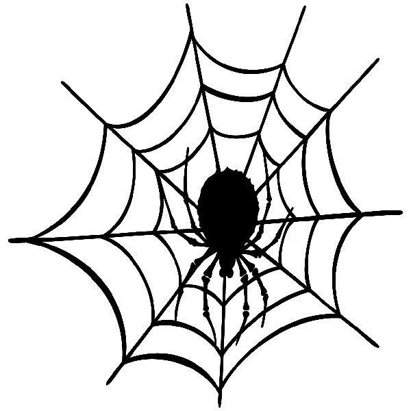 Wandtattoos: Tela de araña 3