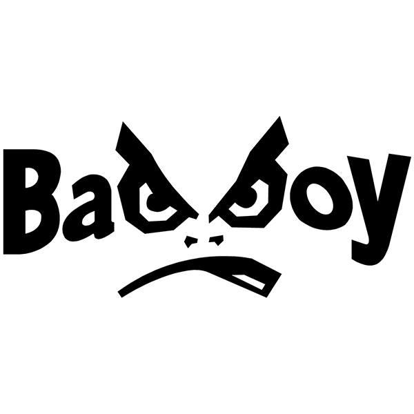 Aufkleber: Bad Boy logo