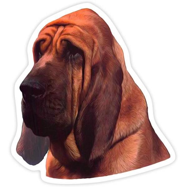 Aufkleber: Bloodhound