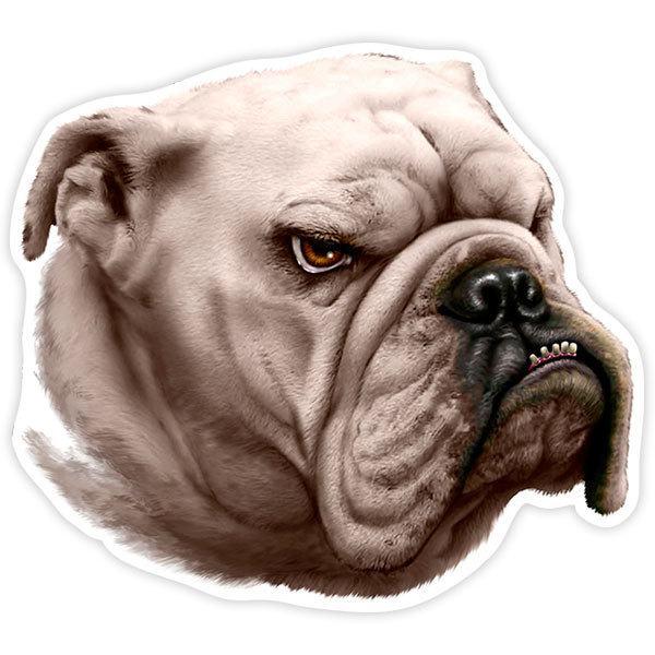 Aufkleber: Bulldog