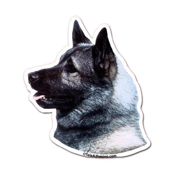 Aufkleber: Norwegian Elkhound
