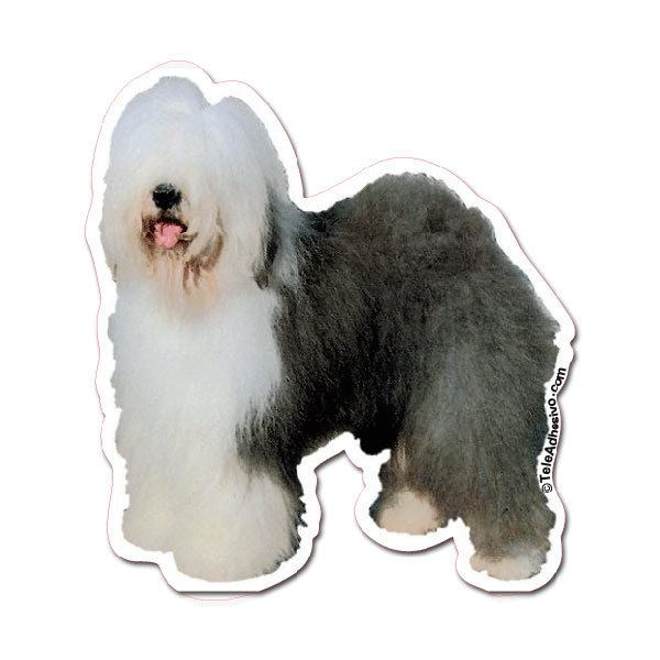 Aufkleber: Old English Sheepdog