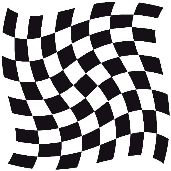Aufkleber: Racing Flaggen 22