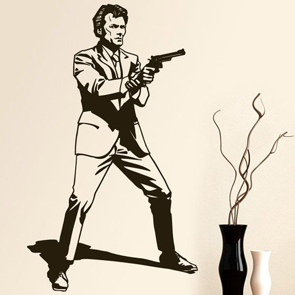 Wandtattoos: Dirty Harry 0
