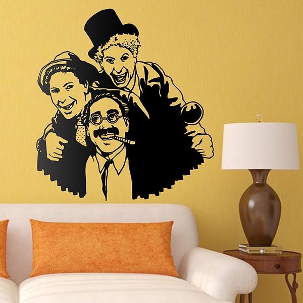 Wandtattoos: Marx Brothers
