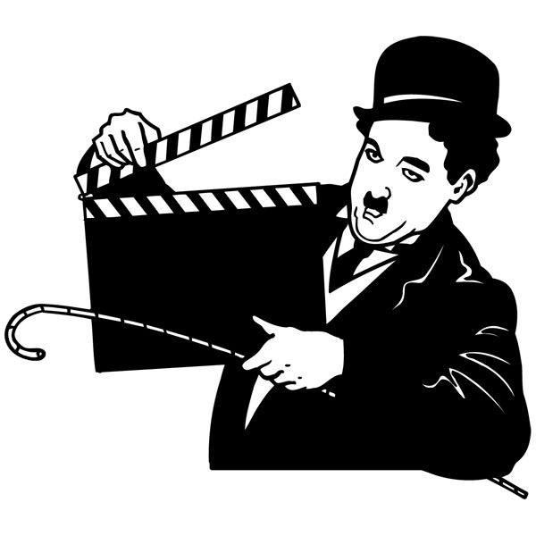 Wandtattoos: Chaplin