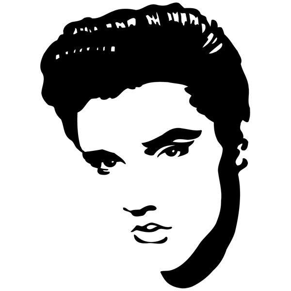 Wandtattoos: Elvis Presley 3