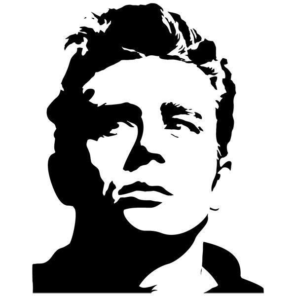 Wandtattoos: James Dean