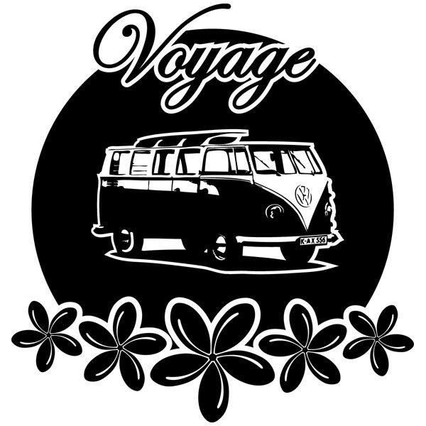 Wandtattoos: Van Voyager
