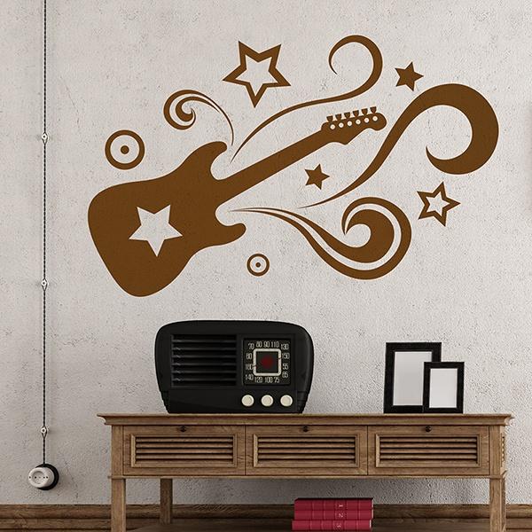 Wandtattoos: Guitar Star