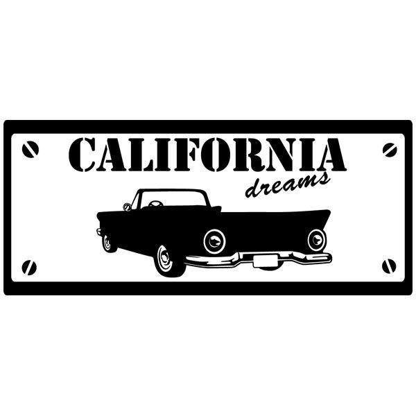 Wandtattoos: California Dreams